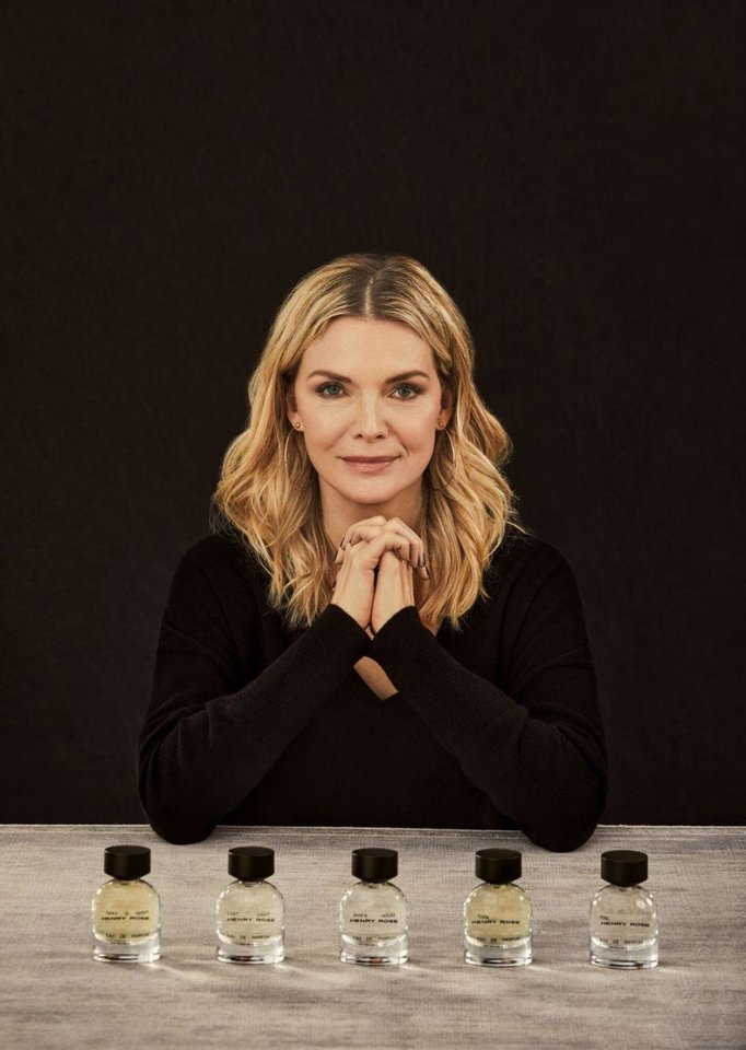 Photo - Michelle Pfeiffer has added new personal care and home fragrances to her Henry Rose brand.