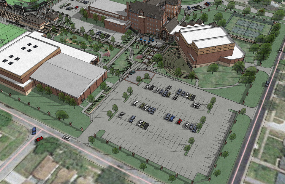 Oklahoma city catholic school breaks ground on new project for Build on your lot oklahoma