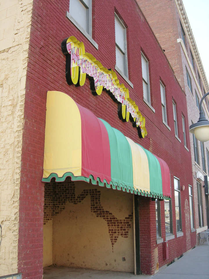 Photo -  The former Margarita Mama's, 18 E California Ave. along the Bricktown Canal, was purchased by Steve Down and The Falls Event Centers in 2017 but is now facing foreclosure by its former owner, Gary Cotton. [Photo by Steve Lackmeyer, The Oklahoman Archives]