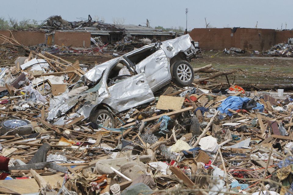 Photo - Oklahoma City, OK, Thursday, May 23, 2013,  Photo by Paul Hellstern, The Oklahoman