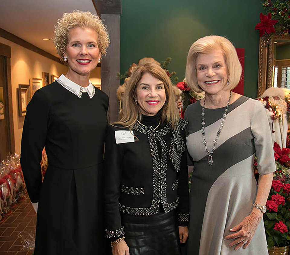 Photo - Alice Hager, Sue Ann Arnall and Judy Love. PHOTO BY CARL SHORTT, FOR THE OKLAHOMAN