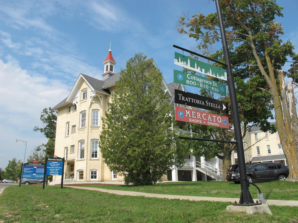 In michigan neighborhood replaces stately mental hospital for Craft shows in traverse city mi