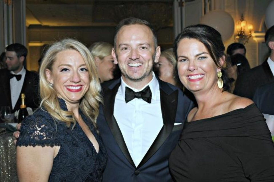 Photo -  Heather Showalter, Brian Bogert and Jenny Ferguson. [Photos provided]