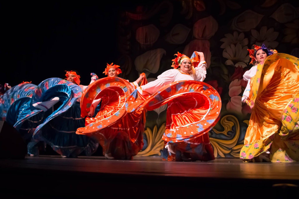 Photo -  Wonders of Mexico, a first professional folkloric dance production based in Tulsa, performs at the Oklahoma City Community College Visual and Performing Arts Center Theater during the 2016 Anita Martinez Mariachi Festival. The second mariachi festival is set for Thursday-Feb. 10 with events at OCCC and Oklahoma Contemporary Arts Center. [Photo provided]
