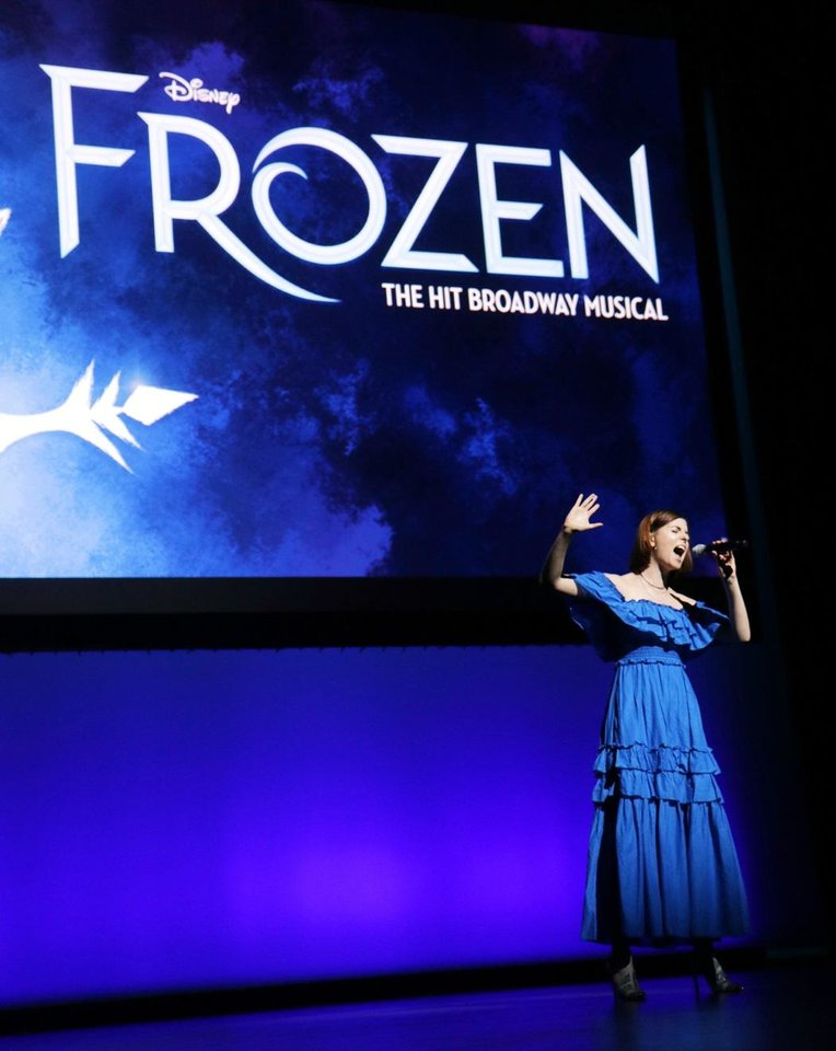Photo - Charissa Hogeland from the Broadway cast of Disney's