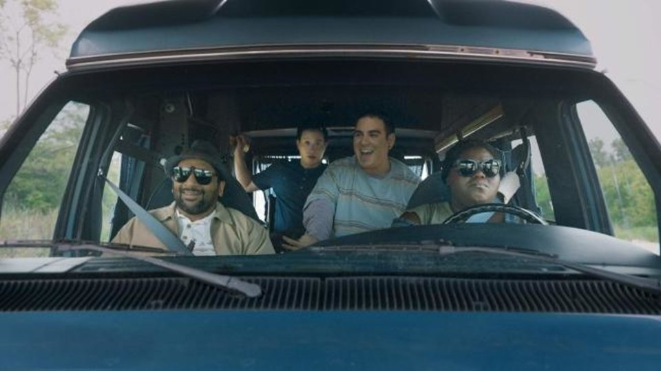 Photo -  Ravi Patel, Hayden Szeto, Gabourey Sidibe and Grant Rosenmeyer star in