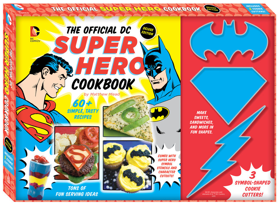 Photo - The Official DC Super Hero Cookbook