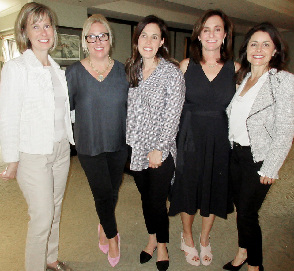Photo - Marran Ogilvie, Kristen Bohanon, Heidi Fisher, Susan Silver, Lisa Richardson. HELEN FORD WALLACE PHOTOS/THE OKLAHOMAN