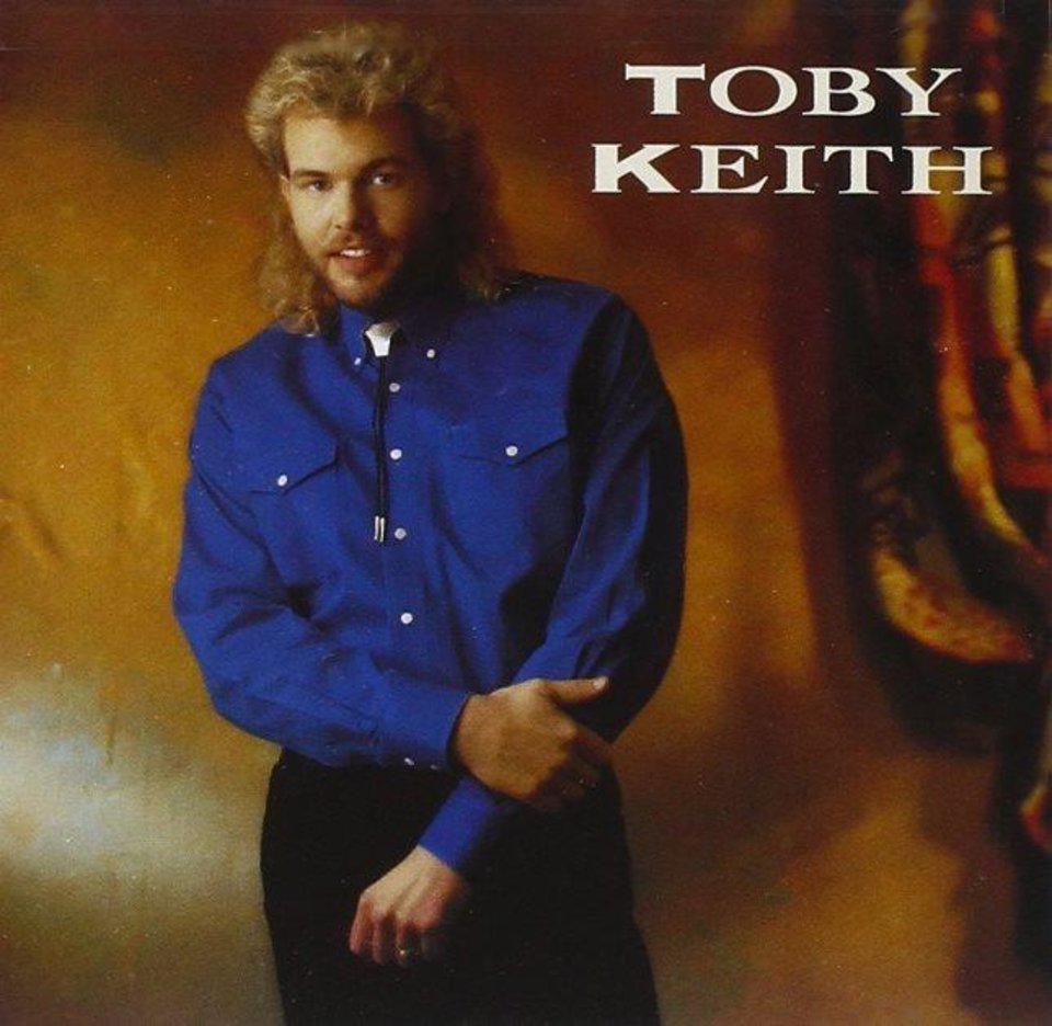 Oklahoman Toby Keith Wore A Bolo Tie On The Cover Of His 1993 Selftitled