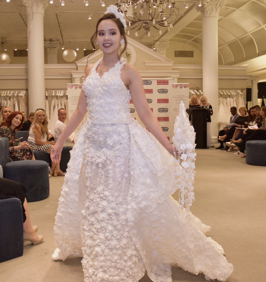 Can You Create A Wedding Dress From Toilet Paper