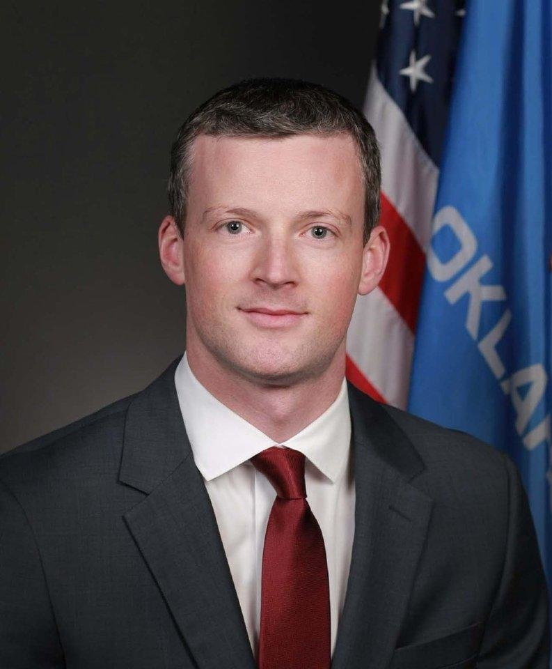 Photo -  Oklahoma Supreme Court Justice Patrick Wyrick. [Photo provided]