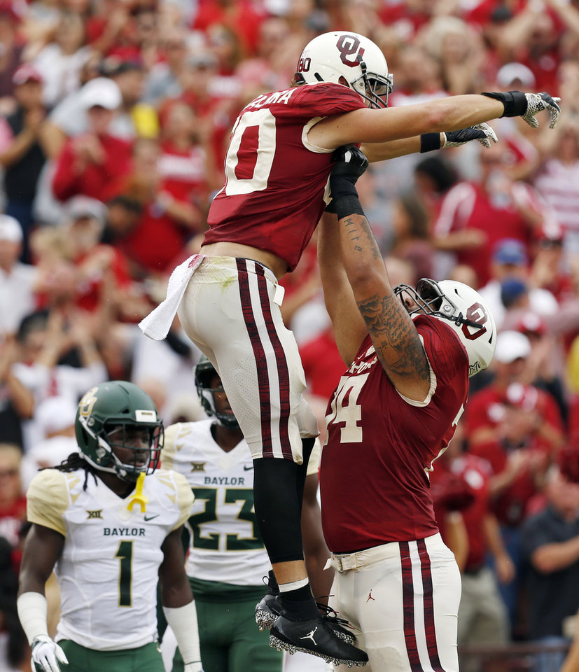 OU football: Sooner offensive line among top-14 groups in ...