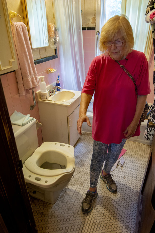 Routine day soiled by sewage backup in guthrie home for Sewer backup in house
