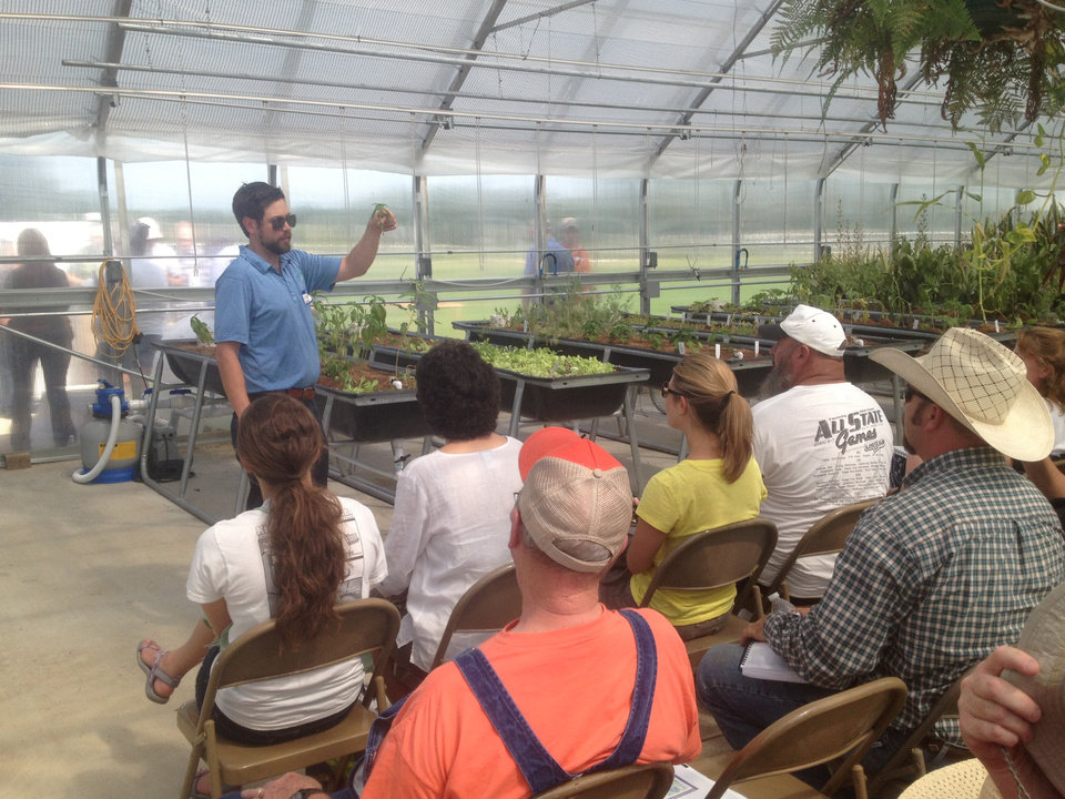 Aquaponics training on Oct 17 in Wilburton for an