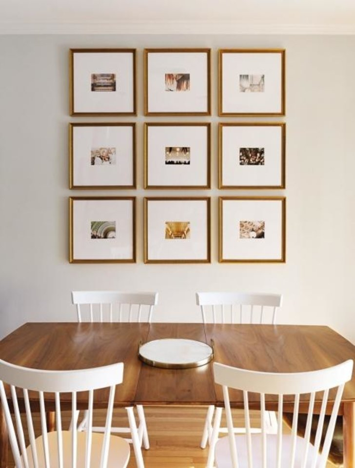 Photo -  A gallery wall by Framebridge. [FRAMEBRIDGE]