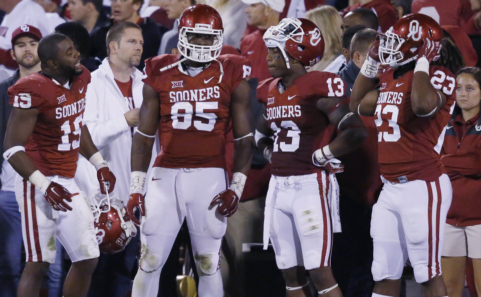 more photos 651ab f0f42 OU football: Don't expect to see Eric Striker and Devante ...