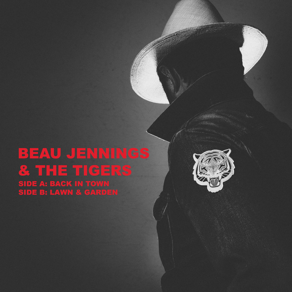 Photo -  Beau Jennings and The Tigers cassette album art. [Image provided]