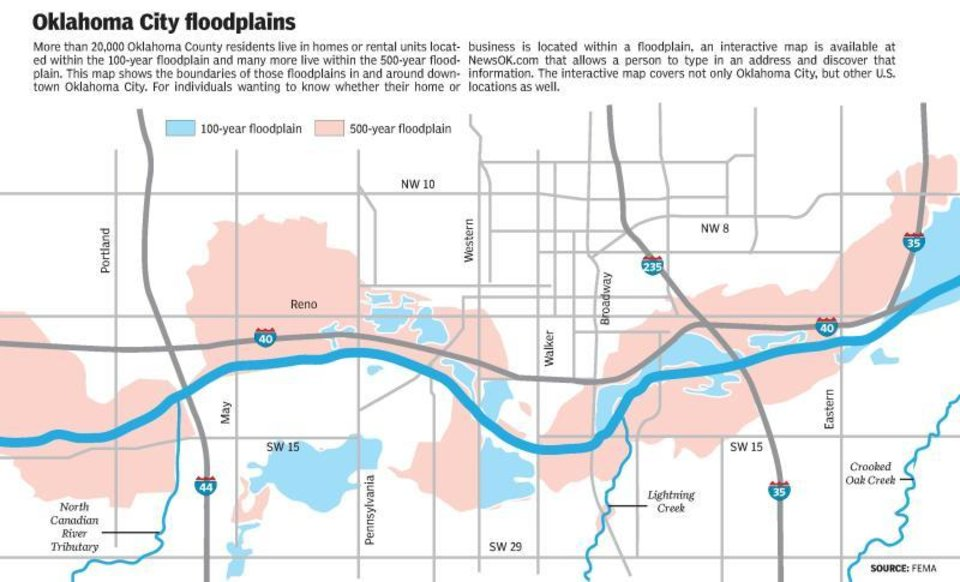 500-year rain: What if a Houston-like storm were to deluge Oklahoma on