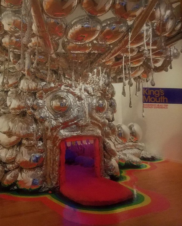 "Photo - ""King's Mouth: Immersive Head Trip Fantasy Experience,"" the companion book for The Flaming Lips' art installation"