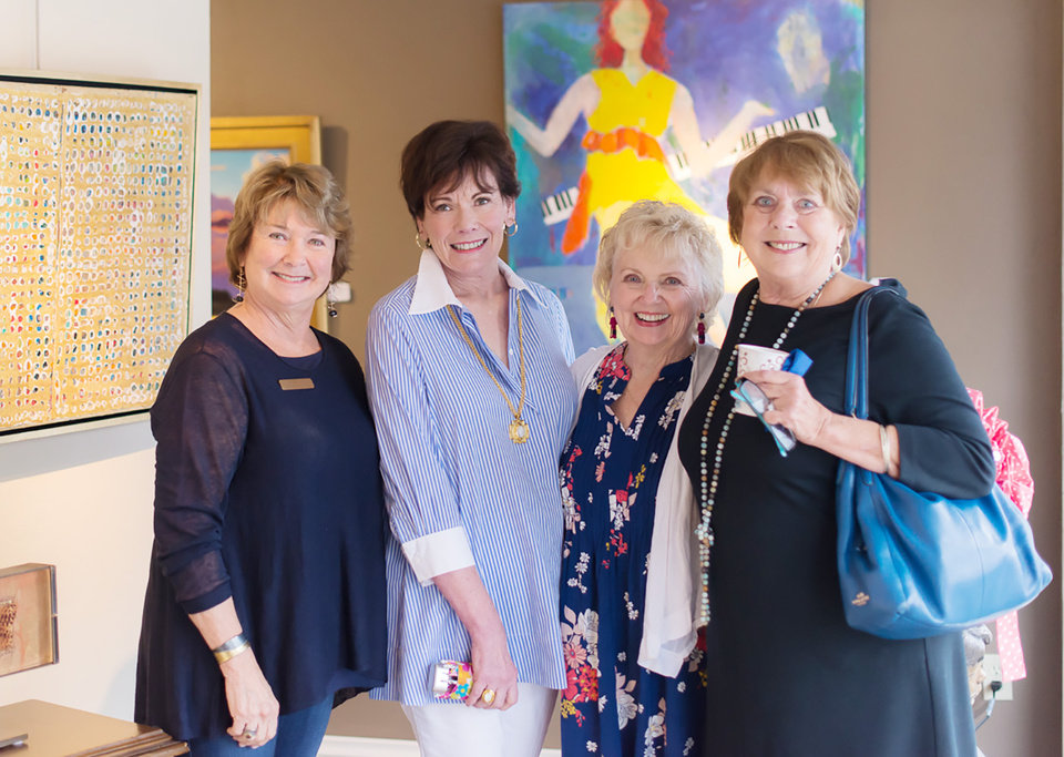 Photo - Nancy Junkin, Jane White, Linda Smith, Cindy Howard. PHOTO BY LEIGH HOWELL, FOR THE OKLAHOMAN