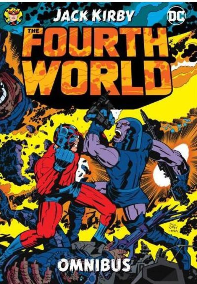 Photo -  Jack Kirby's Fourth World Omnibus collects the epic from the 1970s. [DC Comics]
