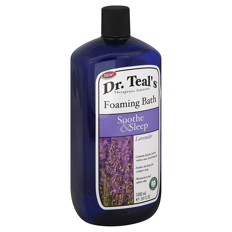 Photo - Dr. Teal's Foaming Bath Soothe & Sleep in Lavender, $5.99 at Ulta.