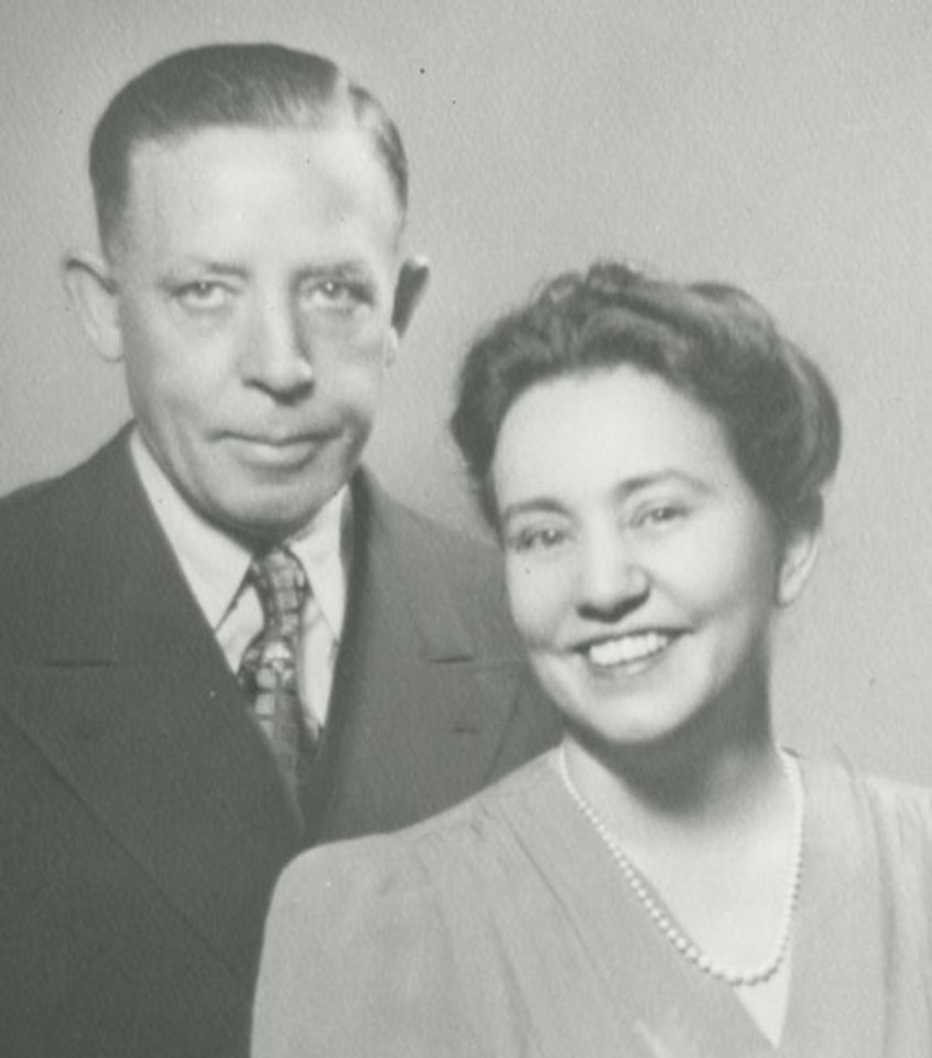Photo -  This undated photograph shows Erle P. and Vida Halliburton. [PROVIDED BY STEPHENS COUNTY HISTORICAL SOCIETY]