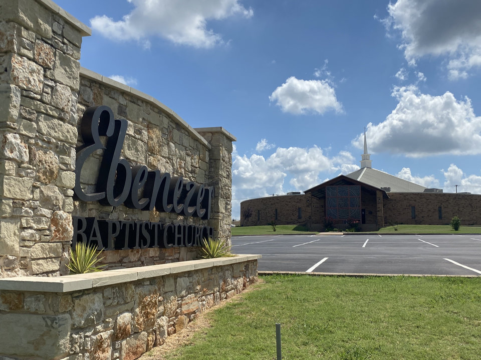 Photo - Ebenezer Baptist Church, 3600 N Kelley, will be the site of a drive-thru backpack distribution at 10 a.m. Saturday. A food distribution will be at 8 a.m. Saturday at the church. [Photo provided]