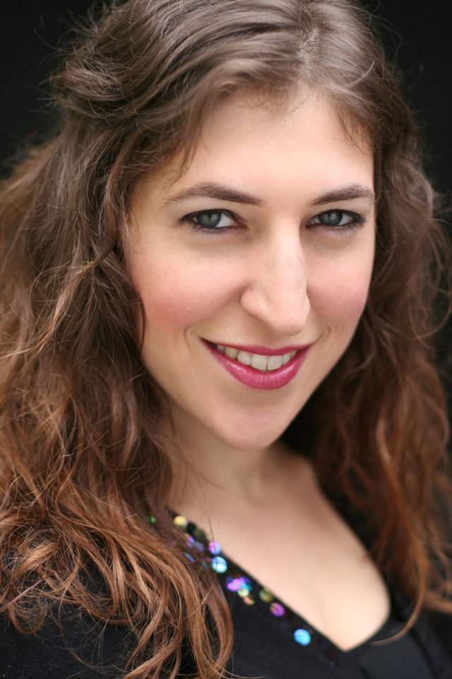 Photo - Mayim Bialik photo provided.