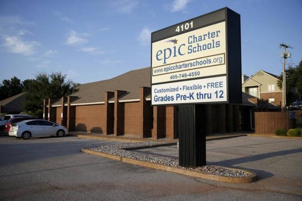 Photo -  Epic Charter Schools in Oklahoma City on Aug. 21, 2019. [Bryan Terry/The Oklahoman]