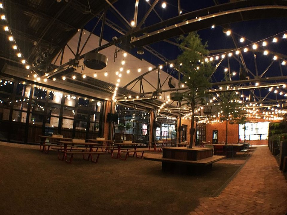 Photo -  This is the outdoor patio of The Jones Assembly. [Photo provided]