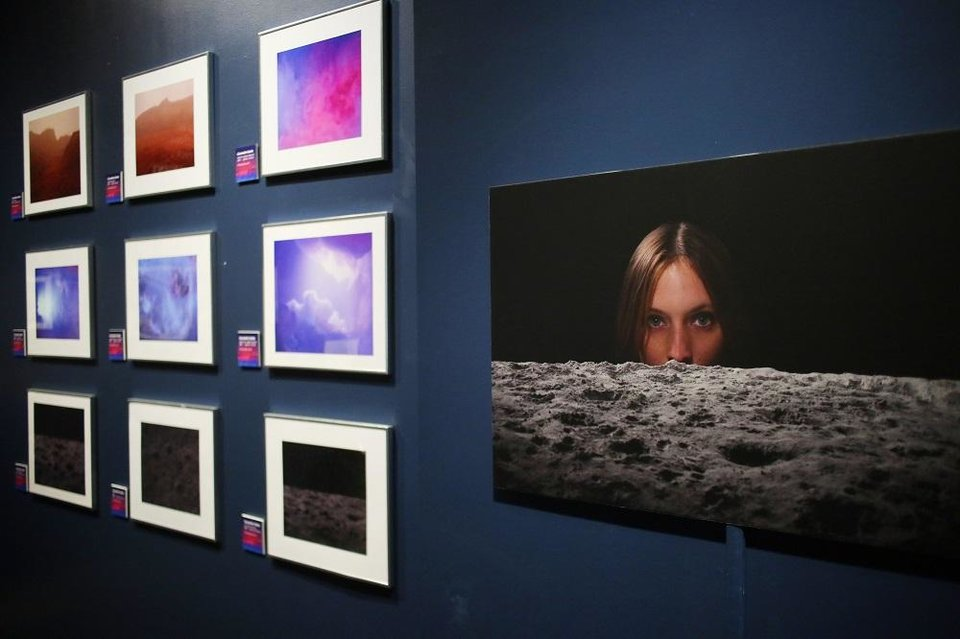Photo - Los Angeles artist Cassandra Hanks' constructed photography is included in the Science Museum Oklahoma's smART Space exhibit