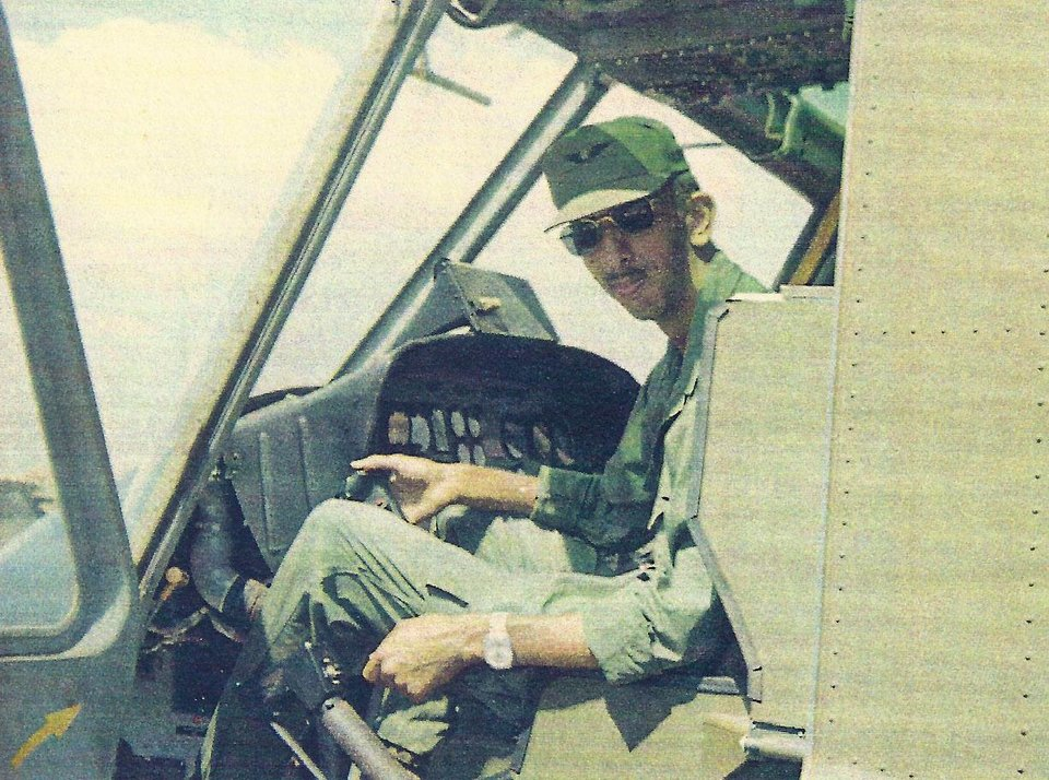 Photo -  The late retired U.S. Army Sgt. 1st Class Stephen M. Florentz, a helicopter medic in the Vietnam War, is seen in a snapshot from the late 1960s. [PHOTO PROVIDED]