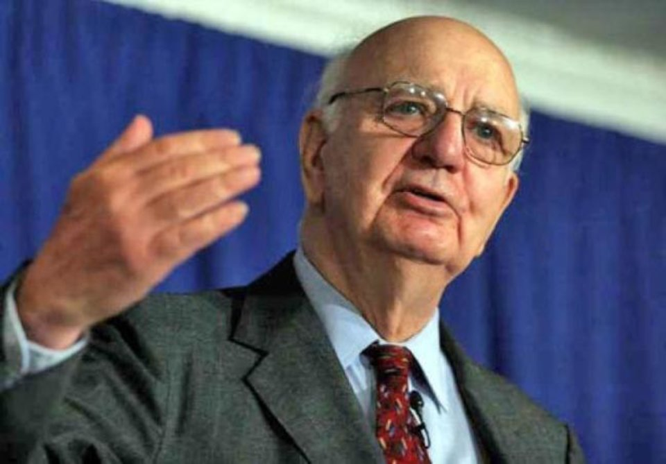 Photo -  Paul Volcker