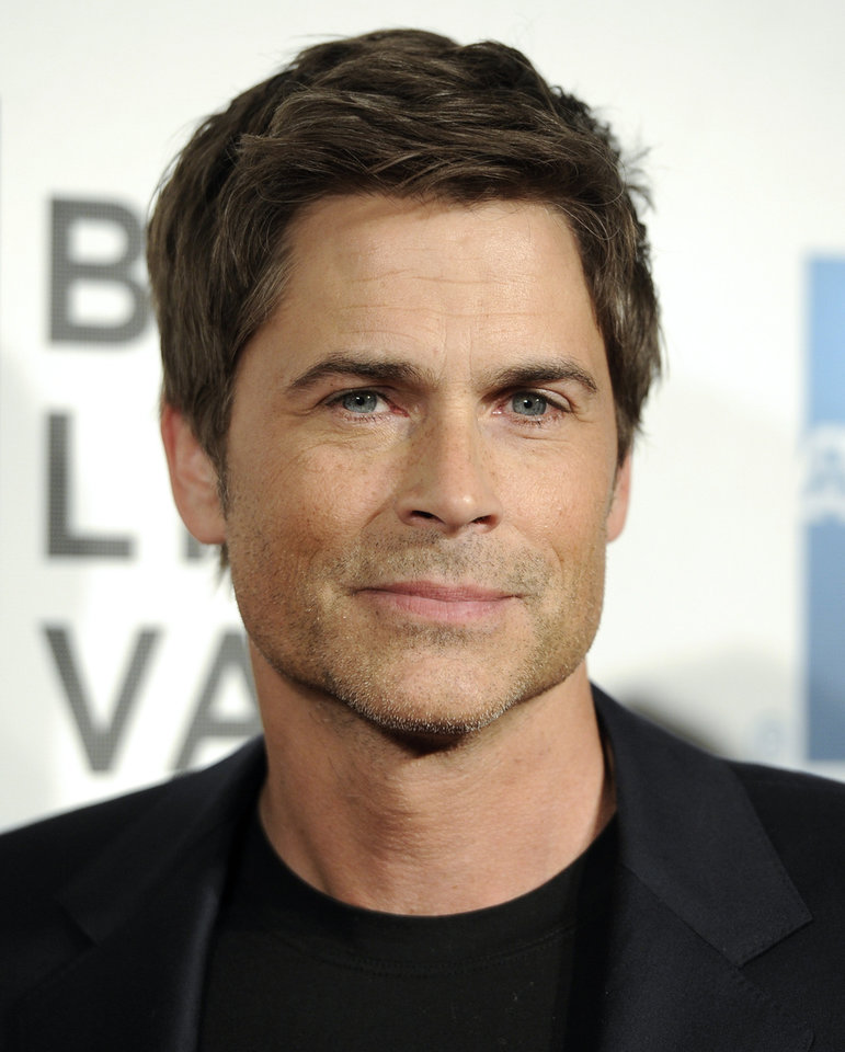 Photo - Actor Rob Lowe attends the world premiere of