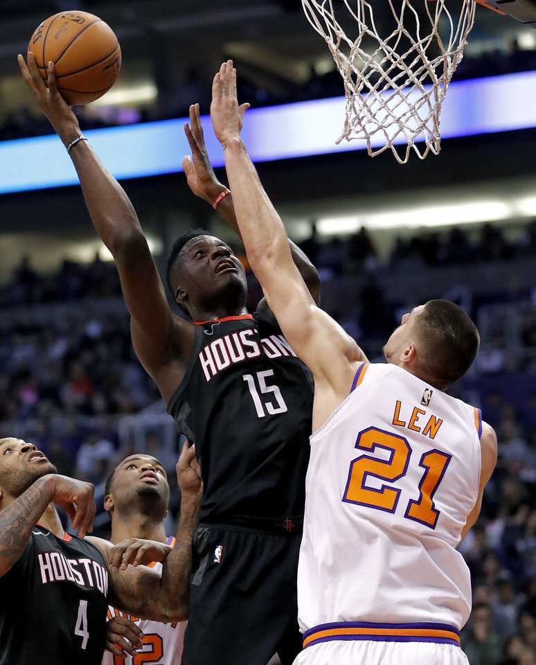 Without Harden Again, Paul Leads Rockets To Rout Of Suns