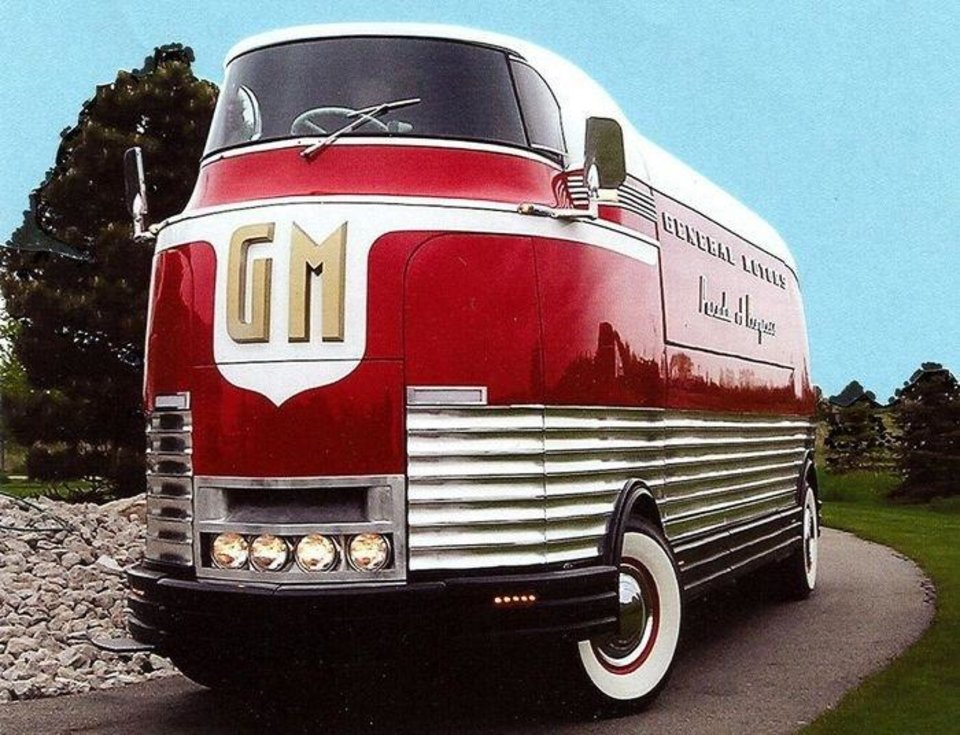 Photo - Futurliner #10 is coming to Oklahoma City during the 101st OKC Auto Show, March 9-11 at the Oklahoma State Fair Park. Photo provided OKC Auto Show.