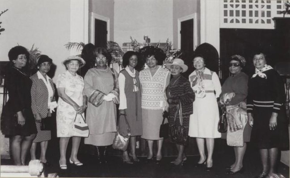 Photo -  Members of the Women's Political Council. [Provided/Levi Watkins Learning Center Archives, Alabama State University and the Beta Nu Omega Chapter of Alpha Kappa Alpha Sorority Inc./via USA Today]