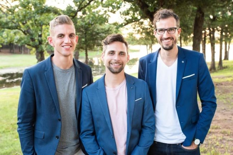 Photo -  ArborXR founders Brad Scoggin, Jordan Williams and Will Stackable launched their company after selling their previous venture, SpringboardVR.