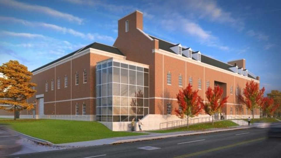 Photo -  Oklahoma State University asked FSB to design and build a new central steam and chilled-water plant on the campus in Stillwater, shown in this drawing from 2016. FSB co-founder Wally Frankfurt had designed the existing plant in 1947 when the firm was only 2 years old. [IMAGE PROVIDED BY FSB]
