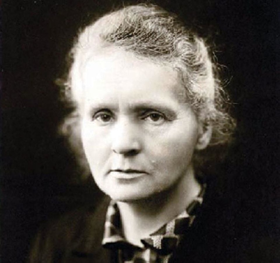 Photo - Dr. Marie Curie. Photo provided by OSU.