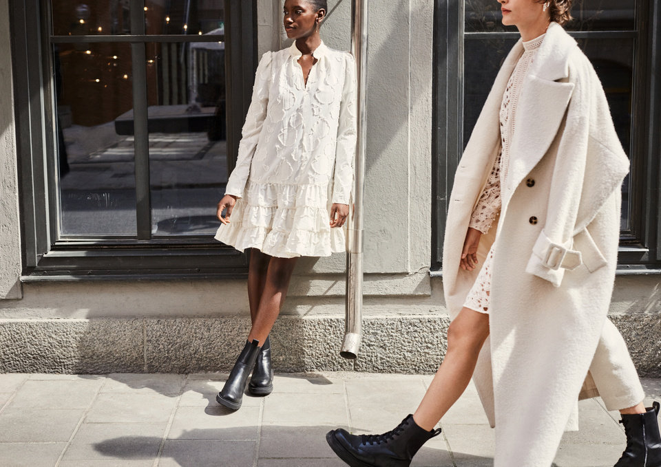 Photo - From H&M's new Fall Fashion 2020 collection using recycled and sustainably sourced materials.