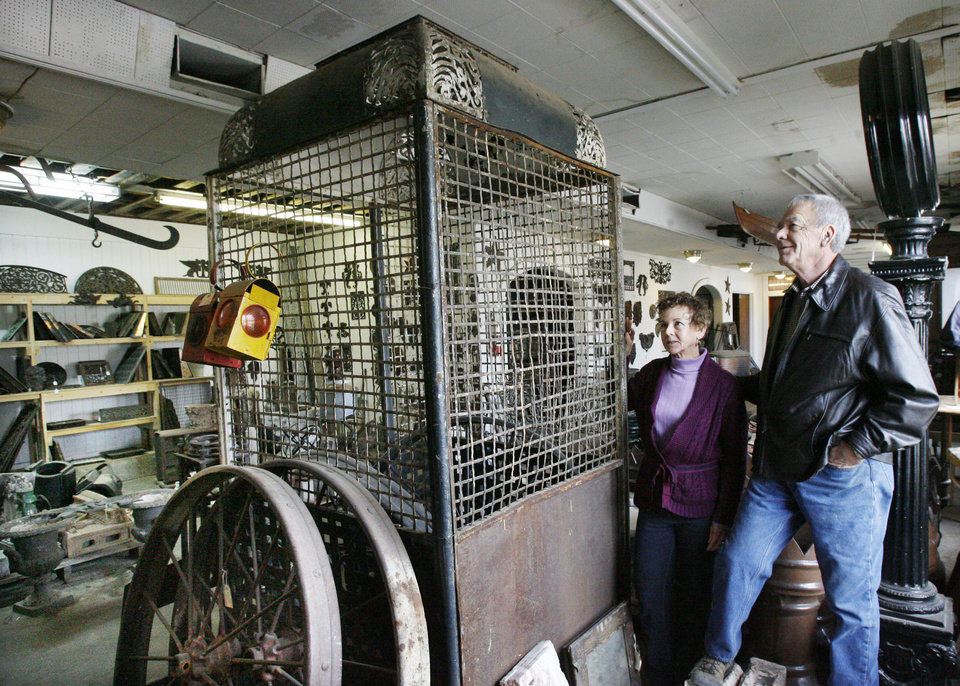 oklahoma city couple find treasures in salvaged materials | news ok