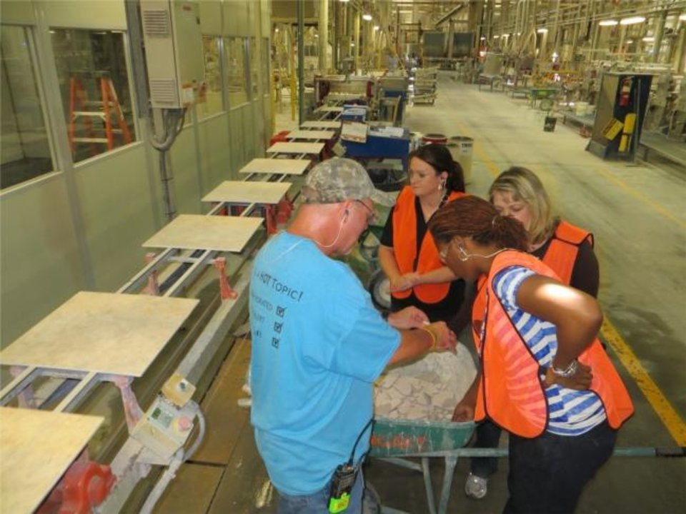 Photo -  Muskogee-based Dal-Tile has 316 Oklahoma employees.