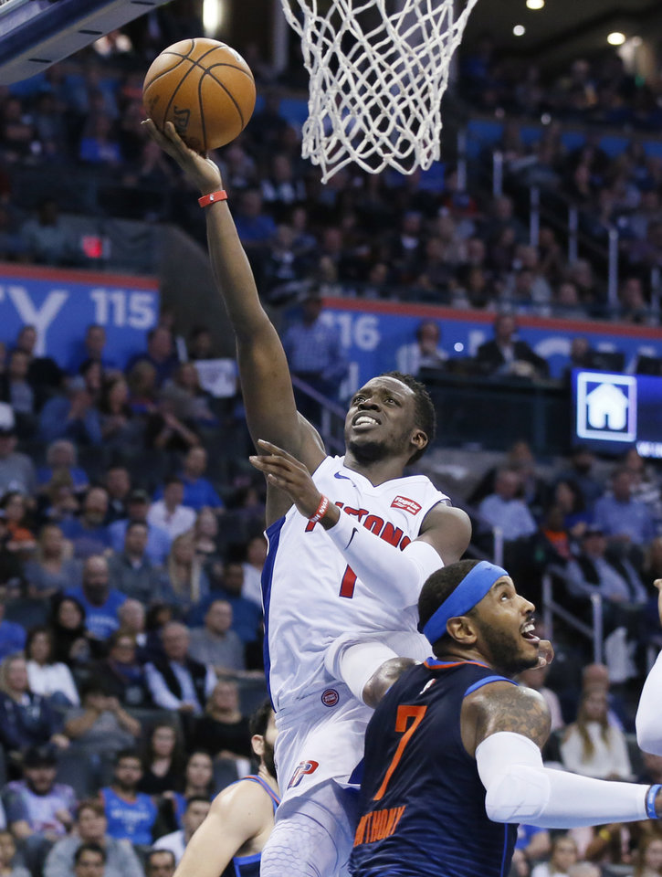 Pistons overcome 15-point deficit to beat Thunder 99-98 ...