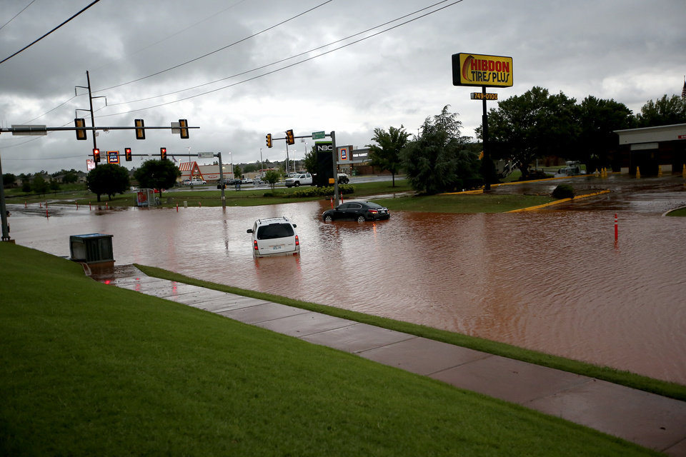 Flash Floods Result From Storms Throughout Oklahoma City Photo Gallery