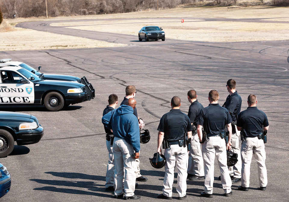 Edmond police cadets get behind the wheel | News OK