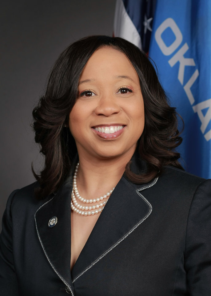 Photo -  State Sen. Anastasia Pittman, D-Oklahoma City