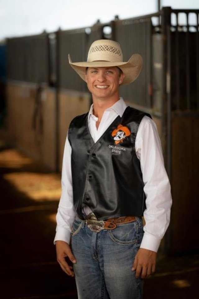 Photo -  Rowdy Swanson was a member of the Oklahoma State University rodeo team. [PHOTO PROVIDED BY OKLAHOMA STATE RODEO]
