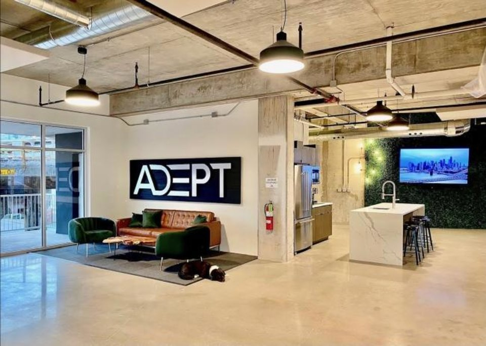 Photo -  Daytime view of Adept Commercial Real Estate in downtown Oklahoma City. [PROVIDED/ADEPT]